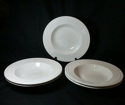 5 Mikasa Italian Countryside - DD900 9 12 Rimmed Soup Bowls - 2 Have Crazing