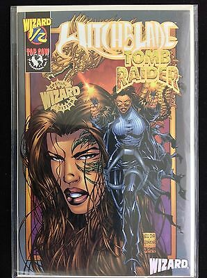 WITCHBLADE TOMB RAIDER 12 Lot of 1 Wizard Comic Book - Special Edition wCOA