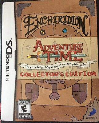 Adventure Time Enchiridion COLLECTORS Edition NEW SEALED NINTENDO 3DS