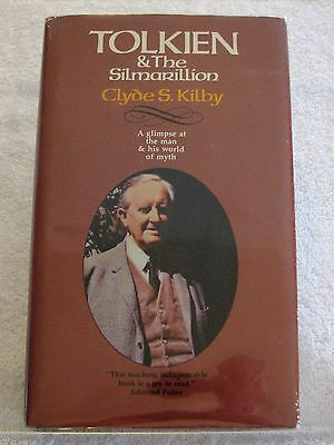 Tolkien Tolkien - The Silmarillion by Clyde S- Kilby - 1st Ed- Hardcover 1976