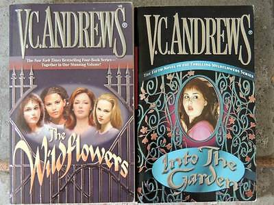 THE WILDFLOWER SERIES COMPLETE by V-C- Andrews GOTHIC HORROR  Lot of 2
