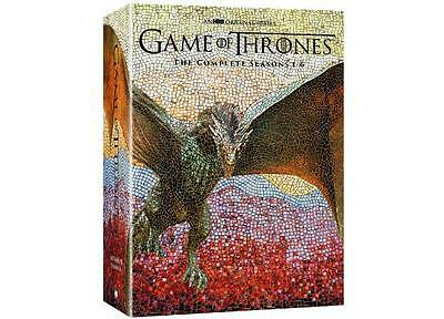 Game of Thrones The Complete Seasons 1-6 DVD 2016