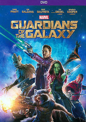 Guardians of the Galaxy DVD 2014 Marvel Vol- 1 - First Movie