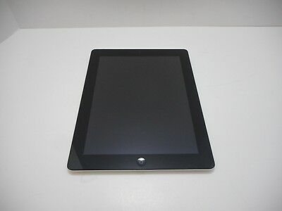 Apple iPad 4 16GB A1458 Wi-Fi 9-7in Black MD510LLA WiFi