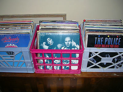 Choose at least four 4 from the Lot of Classic RockPop LP Vinyl Records READ