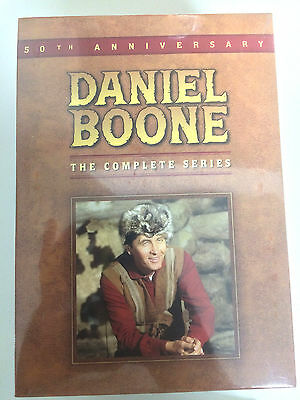 Daniel Boone The Complete Series DVD Disc Box Set NEW - Sealed