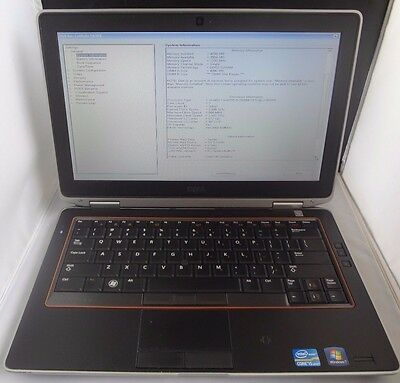 Dell Latitude E6320 Intel Core i5-2520M 2-50GHz 4GB RAM NO HD - NO OP-