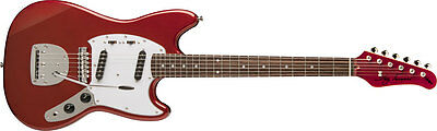 New Jay Turser Mustang Style Vintage Series Electric Guitar - Candy Apple Red