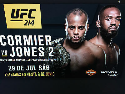 TWO TICKETS TO UFC 214 CORMIER V JONES 2