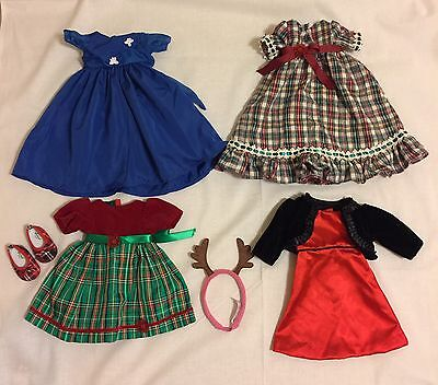 Holiday Dress Doll Clothing Lot  Fits American Girl Dolls 18 Dolls