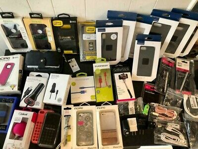 Bulk Wholesale Lot of 1000 Mixed Cell Phone Accessories for iPhone - Galaxy etc