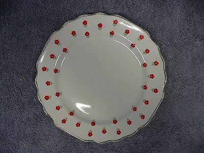 Vintage Lido Blushing Rose by W S George Dessert Plate