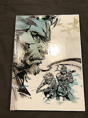 The Art of Metal Gear Solid HD Collection Art Book EXCELLENT