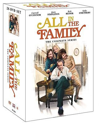 New All in the Family The Complete Series 1-9 DVD 28-Disc Set Free Shipping