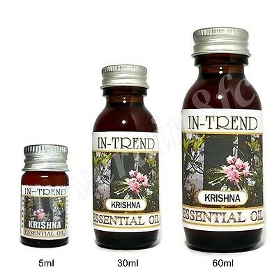 Krishna Essential Oil 100 Pure Many Sizes Free Shipping
