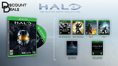Halo The Master Chief Collection Xbox One 2014 DIGITAL CODE INSTANT