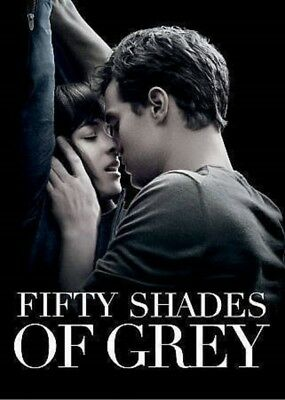 Fifty Shades of Grey DVD 2015 NewSealed SHIPS WITHIN 1 BUSINESS DAY