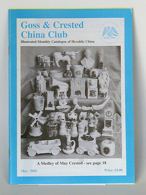 Goss - Crested China Club - Illustrated Monthly Catalogue May 2000