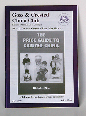 Goss - Crested China Club - Illustrated Monthly Catalogue June 2000