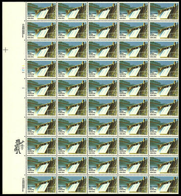 US 2042 20¢ TVA Tennessee Valley Authority Sheet of 50 VF NH MNH