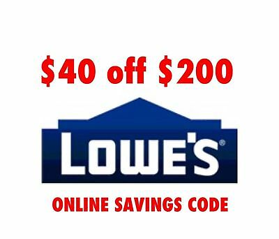 One1x Lowes 40 Off 200-Lowes-Coupon Code-exp 113017