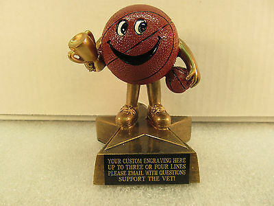 March Madness Basketball Office Pool Award Trophy FREE Engraving Ship 2 day Mail