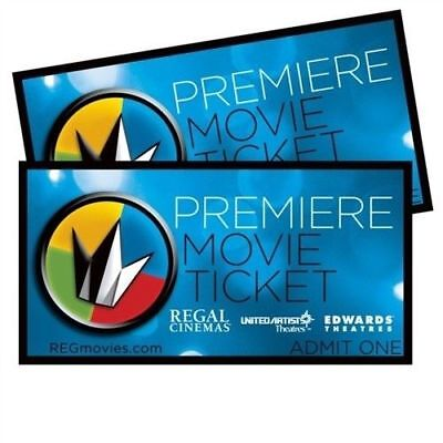 FREE SHIPPING Regal PREMIERE Movie Tickets USE ANYTIME Buy 1 Buy 10 LK