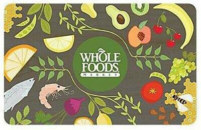 200 IN WHOLE FOODS GIFT CERTIFICATES Fast Deliver