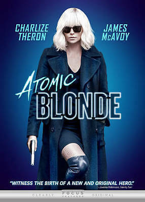 Atomic Blonde DVD 2017 SHIPS WITHIN 1 BUSINESS DAY WITH TRACKING