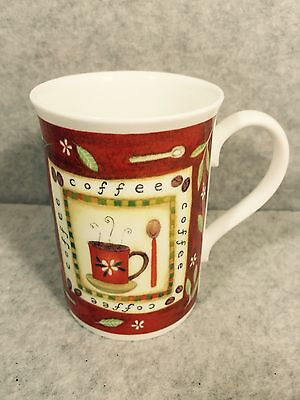 ROYAL GRAFTON ENGLISH FINE BONE CHINA MUG COFFEE DESIGN
