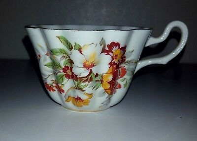 Spencer Stevenson Bone China - Royal Stewart Floral Tea Cup