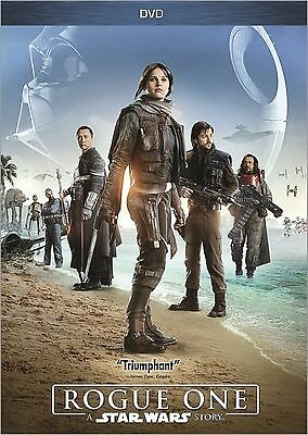 Rogue One A Star Wars Story DVD 2017 NEW Ships within 1 Business Day