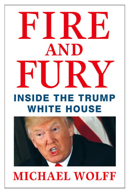 Fire and Fury Inside the Trump White House Hardcover