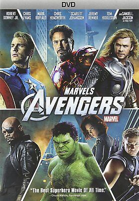 The Avengers DVD 2012 Original Movie MARVEL