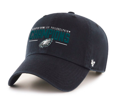 Philadelphia Eagles 47 Brand 2018 Super Bowl LII Champions Dad Cap Hat Clean Up