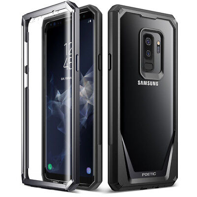 POETIC For Samsung Galaxy S9 Plus Rugged Case Guardian Shockproof TPU Cover BK