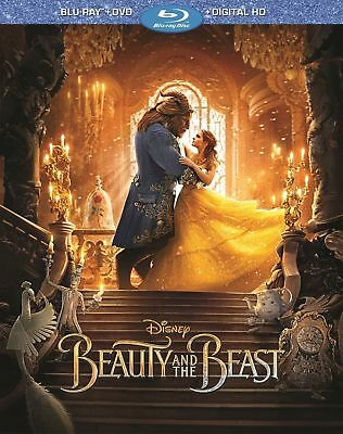 Beauty and the Beast LIVE Version Blu-rayDVD Includes Digital Copy Disney