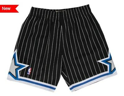 Black Orlando Magic Mitchell - Ness NBA Mens Swingman Shorts