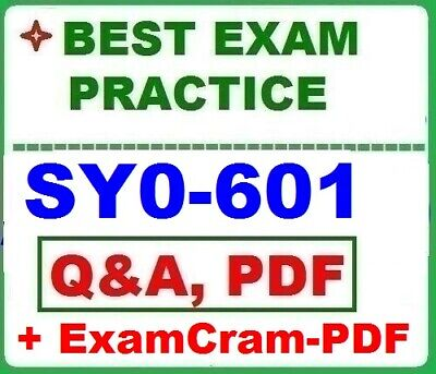 SY0-601- Security- - Best Exam Practice Q-A -  STUDY GUIDE