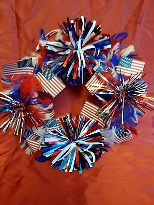 small Fourth of July Wreath