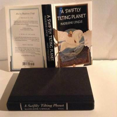 A Swiftly Tilting Planet by Madeleine LEngle HC DJ author of A Wrinkle in Time