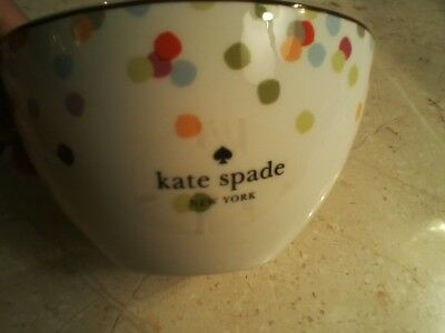 KATE SPADE NYC Market Street Collection 4 SoupCereal Bowls By Lenox MSRP 24 EA