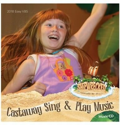 Shipwrecked VBS Castaway Sing - Play Music CD- Group Vacation Bible School- NEW