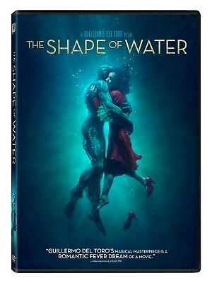 The Shape of Water DVD Ships in 1 Business Day with TRACKING