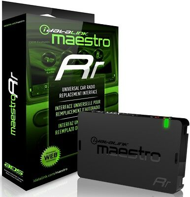 ADS-MRR MAESTRO RR  IDATATLINK  RADIO REPLACEMENT - STEERING WHEEL INTERFACE