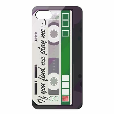 RETRO VINTAGE TAPE GREEN TAPE SOFT TPU BACK CASE COVER FOR APPLE IPHONE CB946