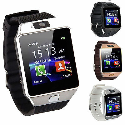 DZ09 Bluetooth Smart Watch Phone - Camera SIM Card For Android IOS Phones