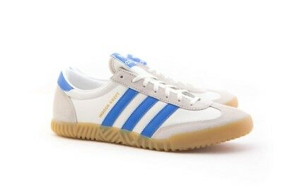 DA8757 Adidas Men Indoor Kreft SPZL white chalk white bright blue
