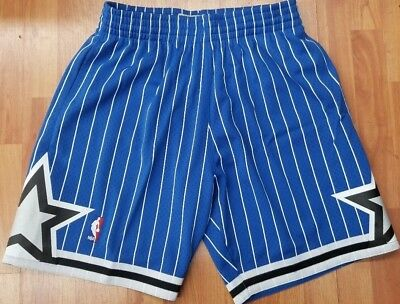 Royal Blue Orlando Magic Mitchell - Ness NBA Mens Swingman Shorts