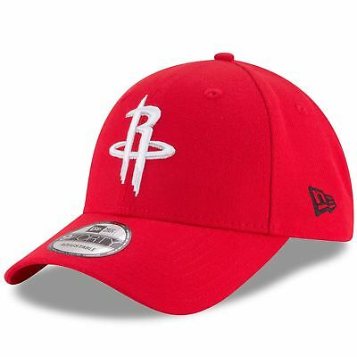 Houston Rockets Hat The League Mens 9FORTY Adjustable Red NBA